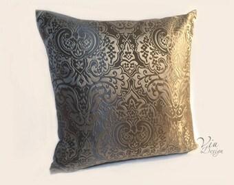 Palazzo Jacquard pillow, noble shine, Oriental ornaments, high-quality designer fabric