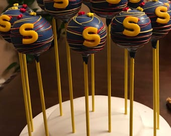 Personalized cake pops