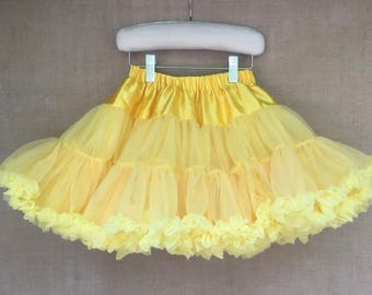 FREE S&H - PETTISKIRT, Yellow