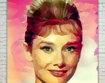 Audrey Hepburn - Audrey Hepburn Poster,Audrey Hepburn West Art,Audrey Hepburn Print,Audrey Hepburn Poster,Audrey Hepburn Merch,Audrey Hepbu