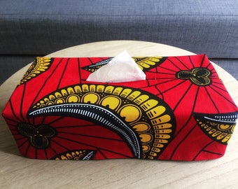 CLASSY Tissuebox Cover - Exclusive African Print