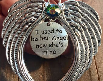 Mom Memorial Angel, Memorial Ornaments, I used to be, Angel Ornaments, Loss of Mother, Death of Mother, Loss of Mom, Angel Mom, Nana Angel