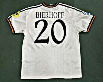 Germany Home Jersey Euro 1996