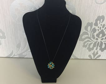 Necklace with beads ball