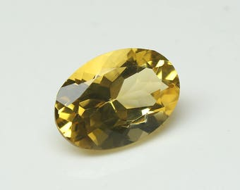 Natural Citrine Faceted Oval Nice cutting 9x13x6.5  MM Citrine Oval Gemstone CODE CT20