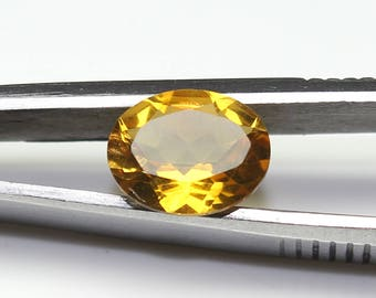Natural Citrine Faceted Oval Nice cutting 8x10x4.7 MM Citrine Oval CODE CT24