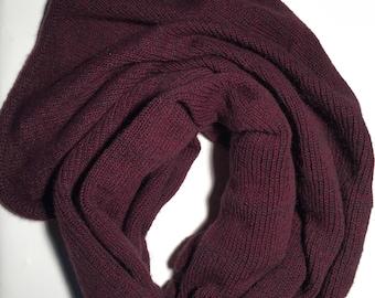Scarf, Wool scarf, cashmere scarf, long scarf, winter scarf, wool scarf knit,warm scarf, grey shawl, wool shawl, oversize scarf