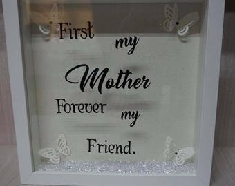 Mother's Day box frame