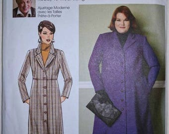 B6430, Butterick, Connie Crawford, Coat Pattern, Sewing Pattern, Out of Print, Sizes XXL - 6X
