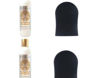 REBLX Premium Self Tan | Value Bundle  | Best Self-Tanner | Self-Tanning | Fake Tan | Made with Natural & Organic Ingredients |