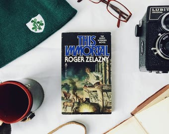 This Immortal by Roger Zelazny ... Vintage Science Fiction Novel (1980)