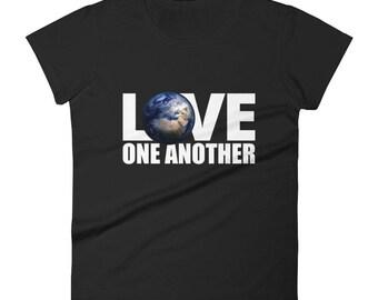 Love One Another-  Women's short sleeve t-shirt