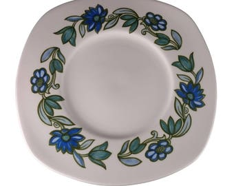 Susie Cooper 'Art Nouveau Blue' Cake Plate