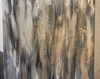 Original, abstract, textured painting / art 18 x 24 canvas