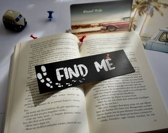 Paper Towns bookmark Find Me