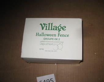 Dept 56 Village Accessories Halloween Fence   [6495bs]