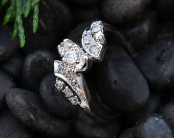 Multi-Diamond Ring