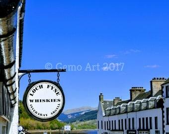 Photo Print - Inveraray, Scotland