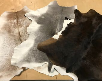 Solid Hair on Calf Hides - Large