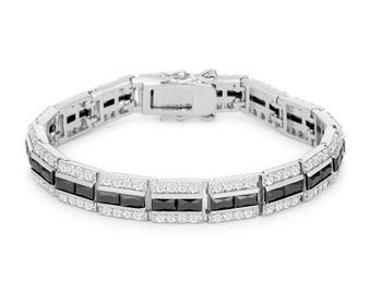Balboa Onyx Cubic Zirconia Bracelet
