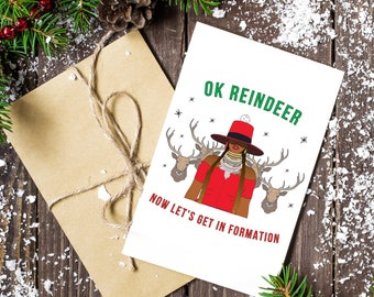 Beyonce Formation Holiday Card (3 pack)
