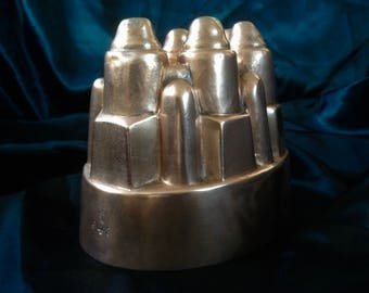 Benham & Froud Victorian Copper Jelly Mould