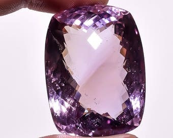 Natural Loose Gemstones Ametrine  Rediant  Shape 42.35 Carat   27  x 18 x 11 mm  Bi-Colo Bolivian