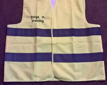 High Visibility Embroidered Vest