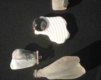 Seaglass Pendants
