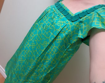 Milly of New York designer green dress