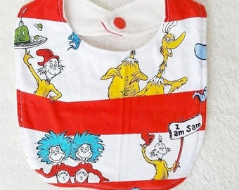 Dr. Seuss Bib
