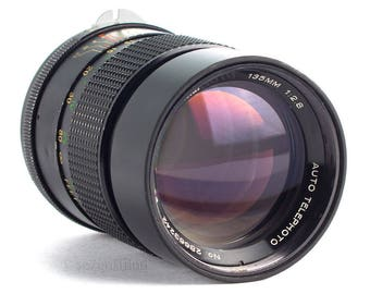 LIMITED... Vivitar 135mm f/2.8 by Komine for Sony E-mount Sony A7 µ4/3