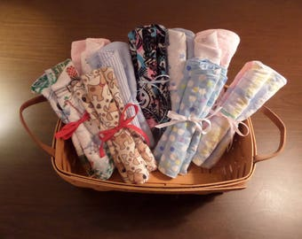 Baby Burping Cloths, set of two