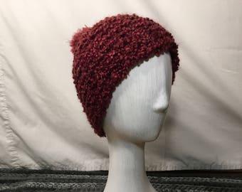 Fluffy Stitch Crochet Hat - Chalet
