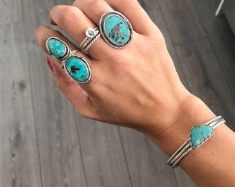 Campitos turquoise cuff bracelet