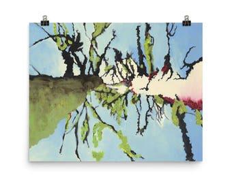 Denver Trees - Beautiful Archival Cotton Rag Fine Art Giclée Print Supporting the Nonprofit Fresh Artists