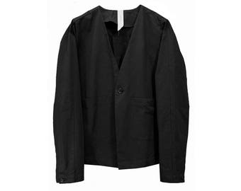 Origimi Collarless Jacket