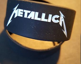 Metallic Rubber Band Bracelet