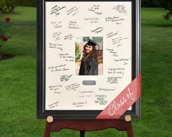 Personalized Celebrations Graduation Signature Frame - Graduation Frames - Personalized Graduation Photo Frames - Graduation Autograph Frame