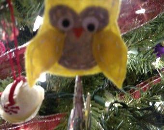 Felt hand sewn Christmas ornaments