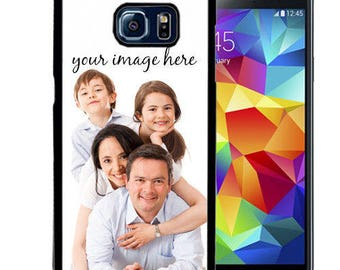 Custom Image Rubber Case For Samsung Note 3, Note 4, Note 5, or Note 8