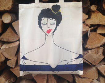 "Art Tote Bag ""Mourners, 3"""