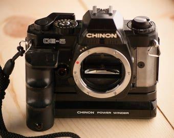 Chinon CE-5 SLR Camera