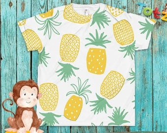 Youth Pineapple T-shirt top