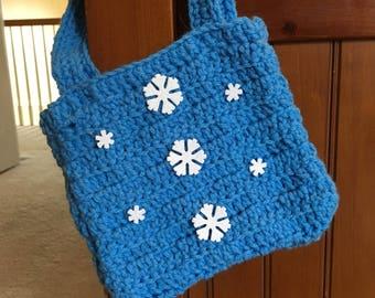 Crocheted Purse//Handbag//Gift for Little Girl//Christmas Gift