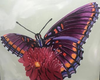 Butterfly Canvas oil painting
