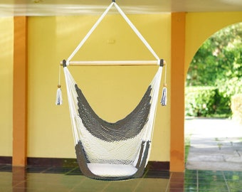 Natural Gray Swing Chair