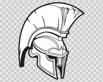 Stickers Decal Spartan Roman Helmet Store Weatherproof 10106