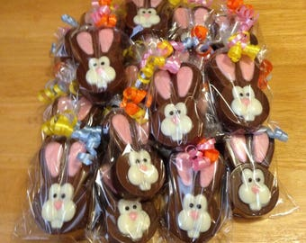 Easter Bunny Covered Oreos