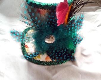 STEAMPUNK mini hat Mad Hatter Alice in Wonderland Lolita cosplay or display